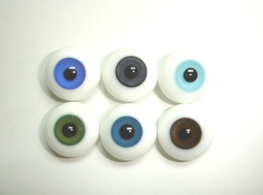 Paperweight Glass Eyes